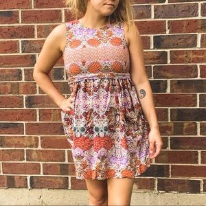 Psychedelic patterned TOPSHOP Dress